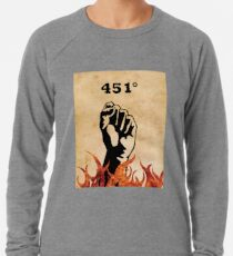 Fahrenheit 451 - Ray Bradbury Lightweight Sweatshirt