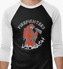 Firefighters Kick Ash Funny Humor Firefighter T-Shirt
