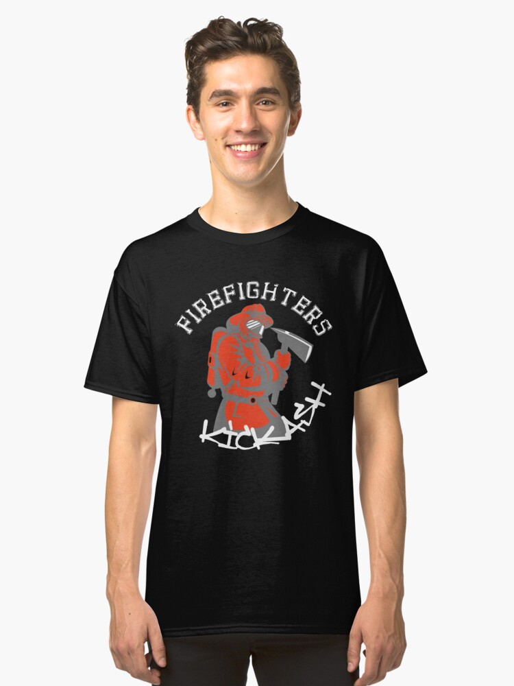 41dfb10c74 Firefighters Kick Ash Funny Humor Firefighter