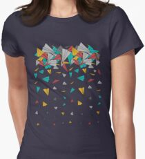 Flying paper planes  Women's Fitted T-Shirt