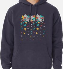 Flying paper planes  Pullover Hoodie