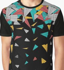 Flying paper planes  Graphic T-Shirt