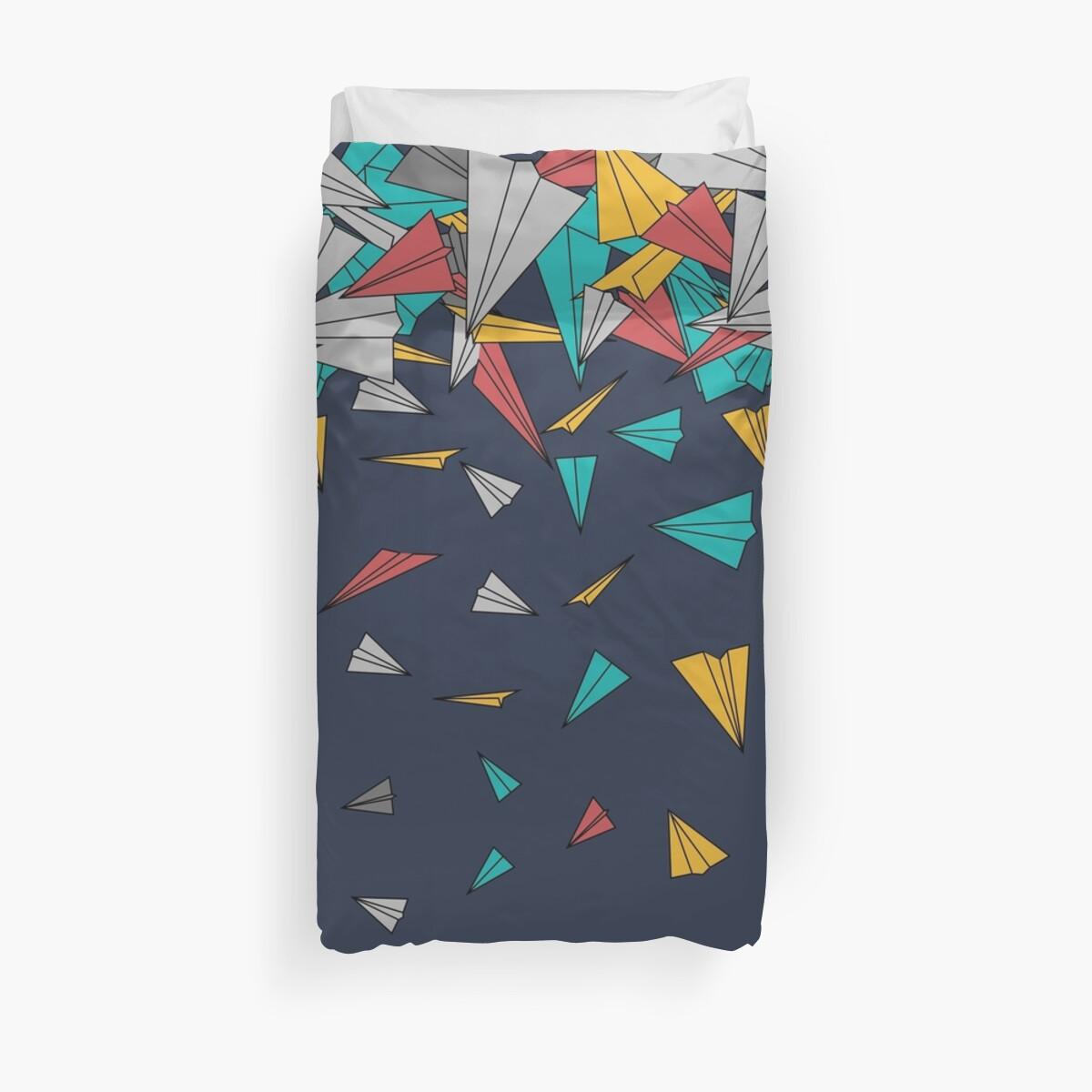 Flying paper planes  von masatomio