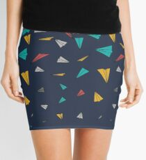Flying paper planes  Mini Skirt