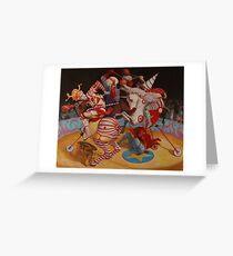 Tarjeta de felicitación Cirque du Soleil