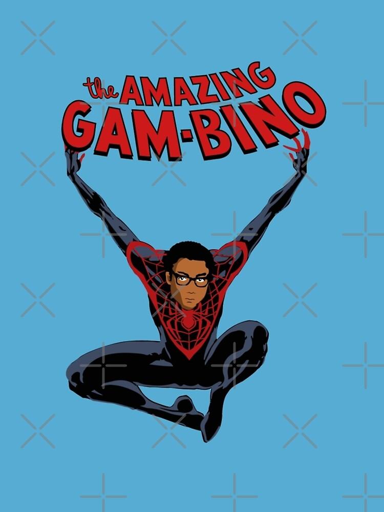 The Amazing Childish Gambino  by ridiculouis