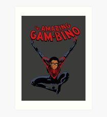 The Amazing Childish Gambino  Art Print