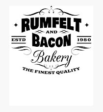 Rumfelt And Bacon Bakery The Finest Quality Photographic Print
