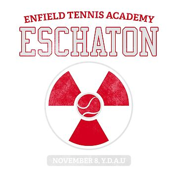 Enfield Tennis Academy Eschaton by tcounihan