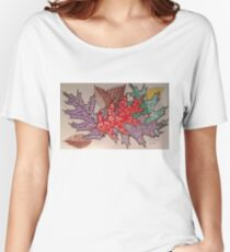 Tangled Leaves Women's Relaxed Fit T-Shirt