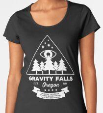 Visit Gravity Falls, Oregon! Women's Premium T-Shirt