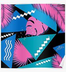 purple pattern  Poster