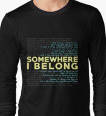 Somewhere I Belong - Linkin Park Long Sleeve T-Shirt