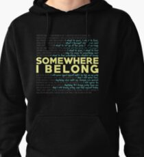 Somewhere I Belong - Linkin Park Pullover Hoodie