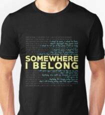Somewhere I Belong - Linkin Park Slim Fit T-Shirt