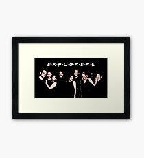 Explorers and Voyagers Framed Print