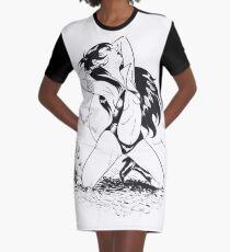 Vampirella I. Graphic T-Shirt Dress