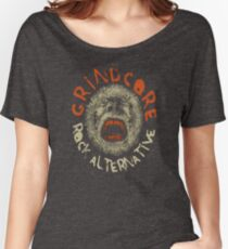 Grindcore Rock Alternative  Women's Relaxed Fit T-Shirt