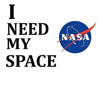 I NEED MY SPACE by andreabazinga