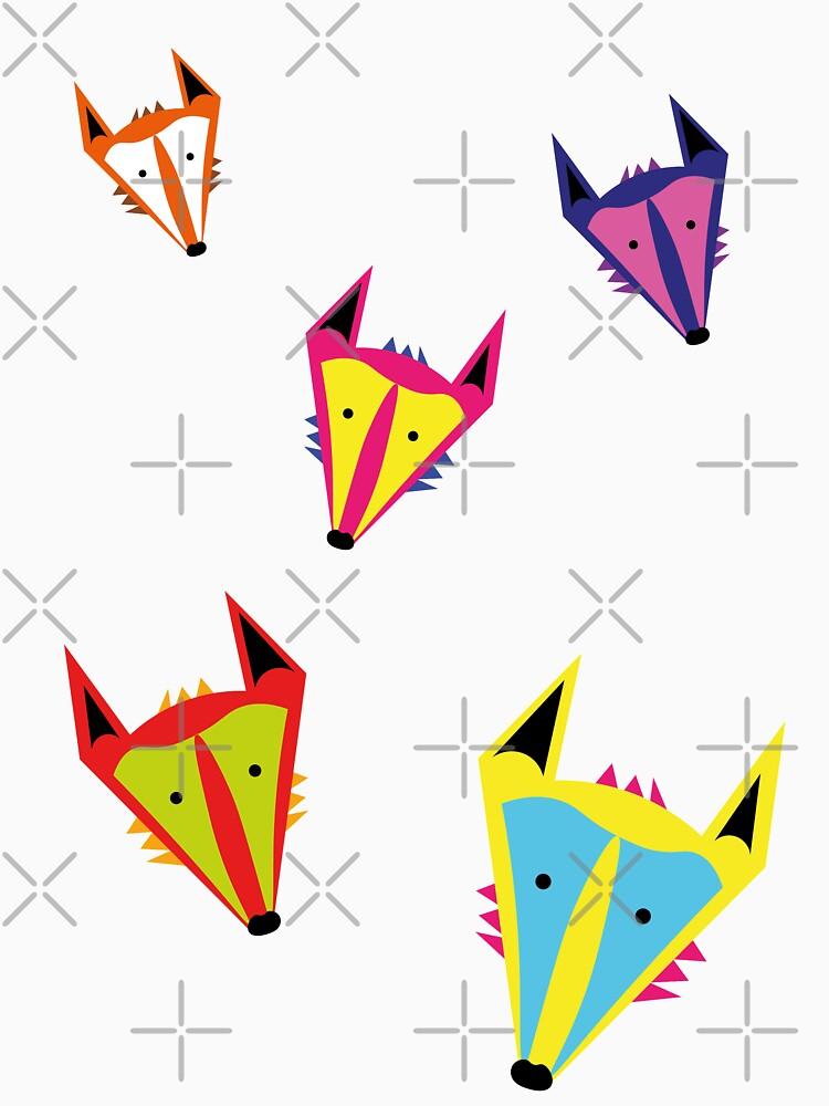 MR FOX GOES POP  by KinkyKaiju