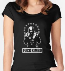 KIMBO SLICE - I COULD TAKE HIM - YEAH RIGHT!!! Women's Fitted Scoop T-Shirt