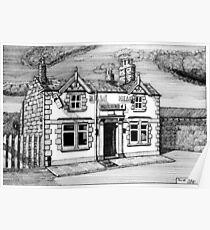 258 - BULL'S HEAD, RHOS - DAVE EDWARDS - INK (2015) Poster