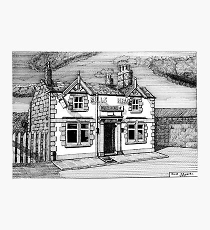 258 - BULL'S HEAD, RHOS - DAVE EDWARDS - INK (2015) Photographic Print