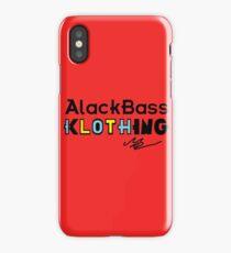 AlackBass Klothing. iPhone Case