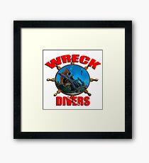 Wreck Diving Framed Print