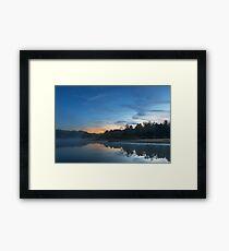 Pendleton Dawn Lake Framed Print