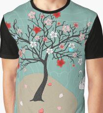 Japanese Garden Stroll Graphic T-Shirt