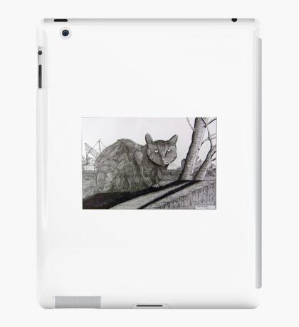 265 - PONCIAU CAT - DAVE EDWARDS - INK - 2017 iPad Case/Skin