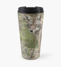 Wandering coyote Travel Mug