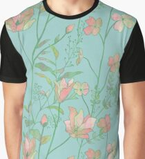 Gorgeous floral (green) Graphic T-Shirt