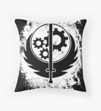 Brother hood of steel T-shirt - Inverted Throw Pillow