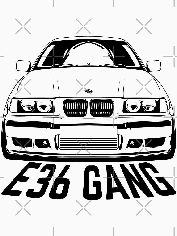 E36 Gang Shirts by CarWorld