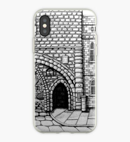 256 - ABBEY ARCH, NORTHGATE STREET, CHESTER DAVE EDWARDS - INK 2014 iPhone Case