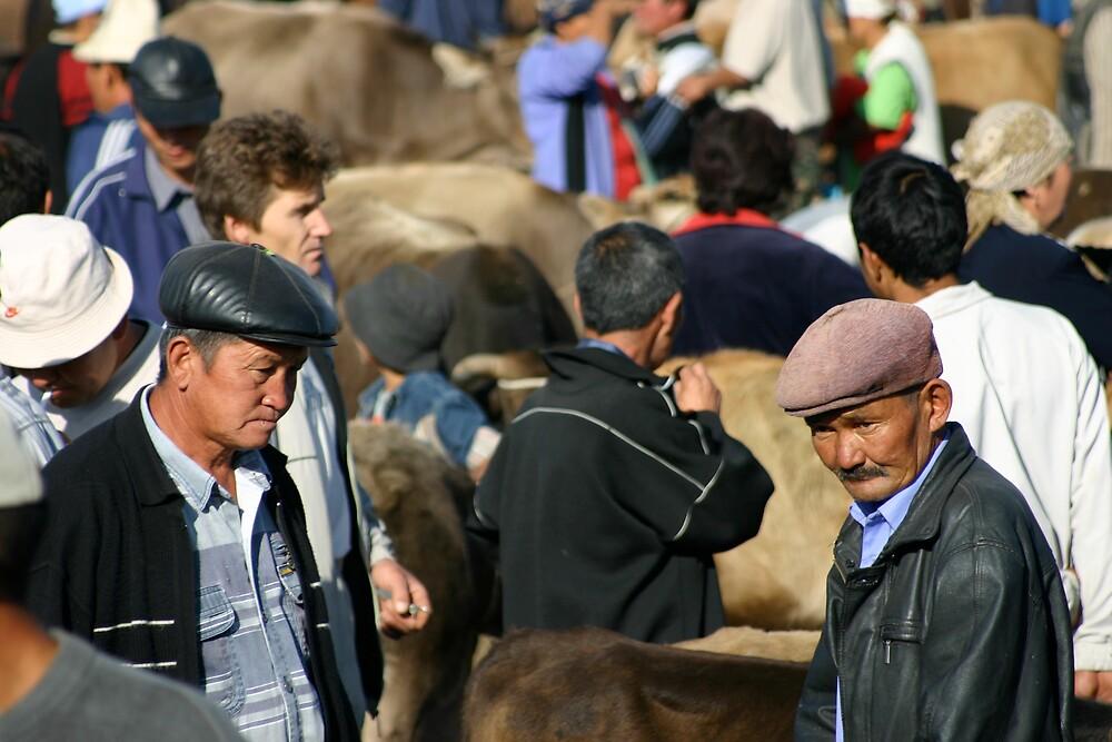 Karakol animal market 2 by sion