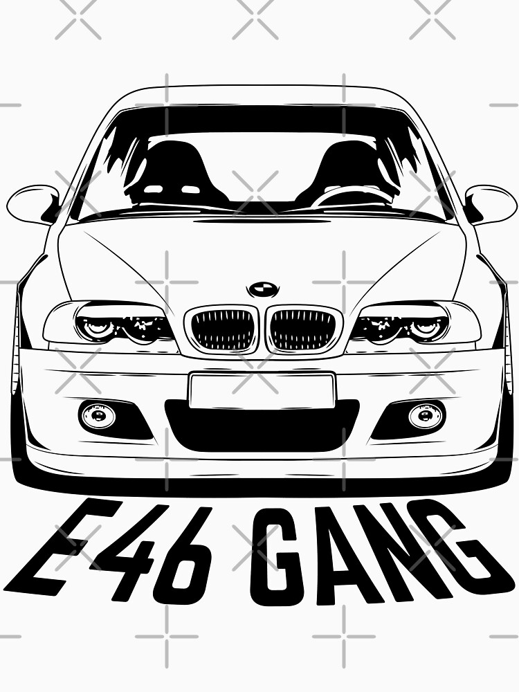 E46 Gang Shirts by CarWorld