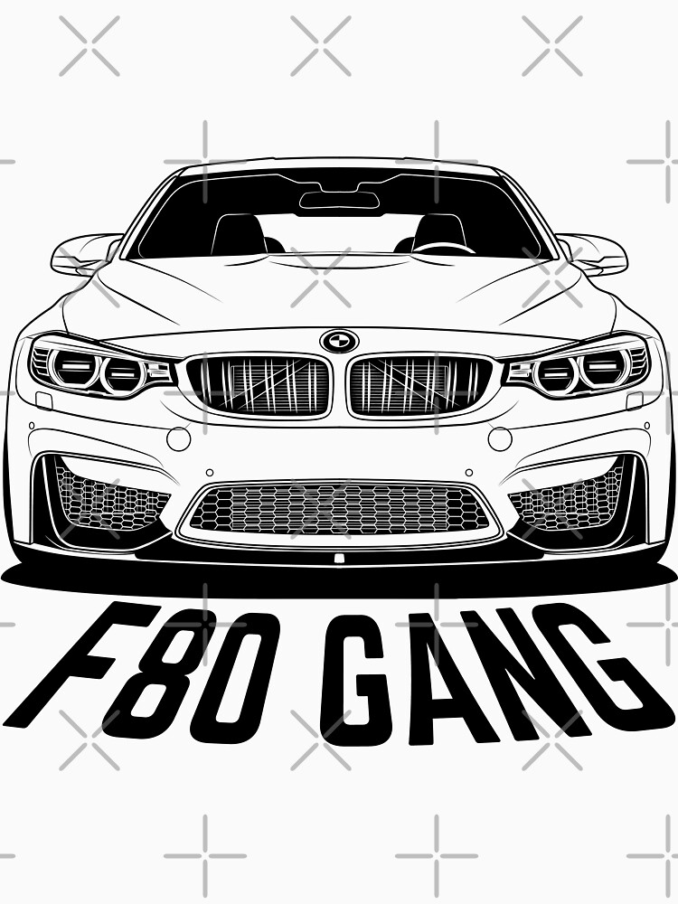 F80 Gang Shirts by CarWorld