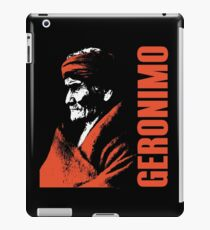 GERONIMO-APACHE 2 iPad Case/Skin