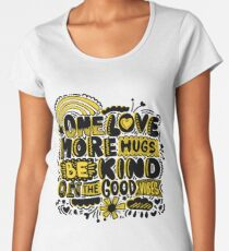 One Love Women's Premium T-Shirt