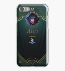 League of Legends: Ahri Mid Banner iPhone Case/Skin
