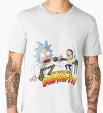 Rick And Morty - Get Schwifty Men's Premium T-Shirt