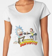 Rick And Morty - Get Schwifty Women's Premium T-Shirt