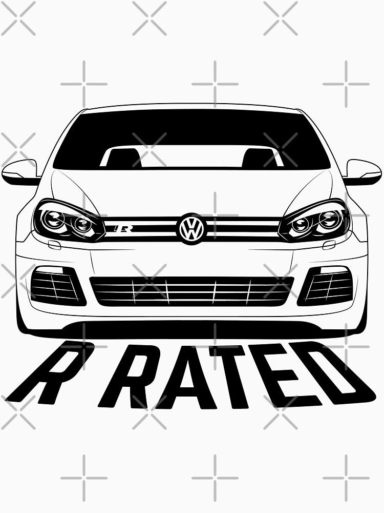 VW Golf R Mk6 Shirts by CarWorld