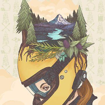 Backwoods Breakout- Women Who Ride by blindthistle