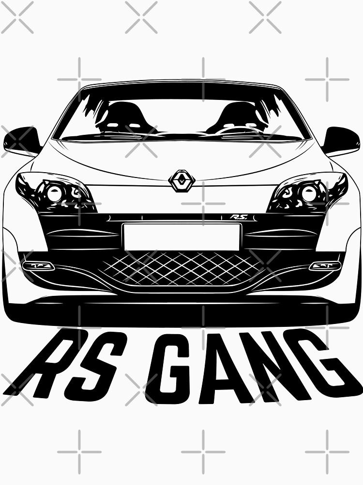 Renault Megane RS Mk3 Gang Shirts by CarWorld