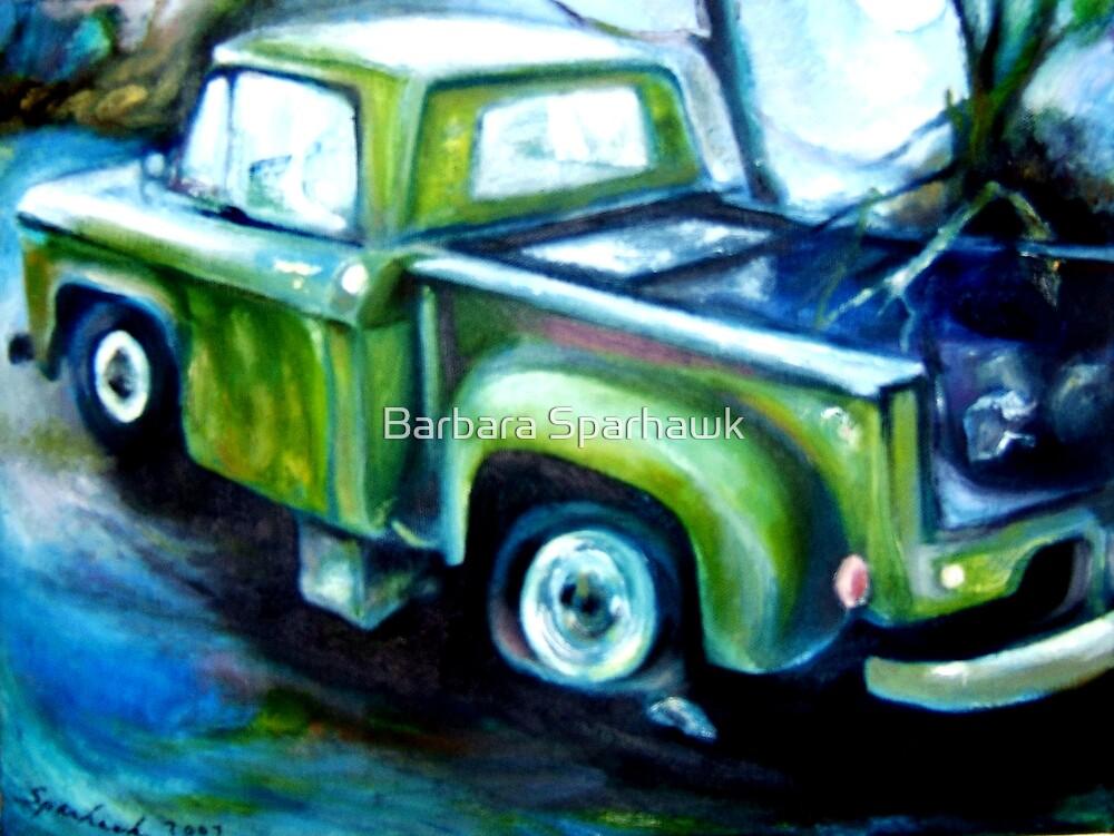 Yosemite Truck, SOLD 9/09 by Barbara Sparhawk
