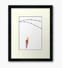 Barbed Framed Print